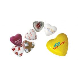Cioccolatini cuore personalizzabili