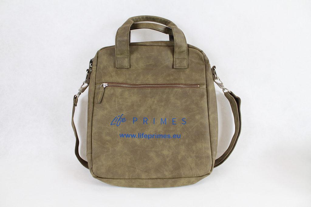 ada9bd1d07 ... borsa pc personalizzata logo life primes ...