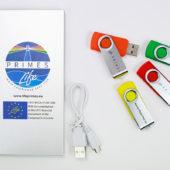 powerbank e USB perosnalizzati logo life primes
