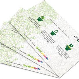 Eco-Card Cartolina piantabile con semi personalizzabile