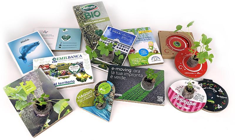 eco-postcard cartoline ecologiche personalizzate