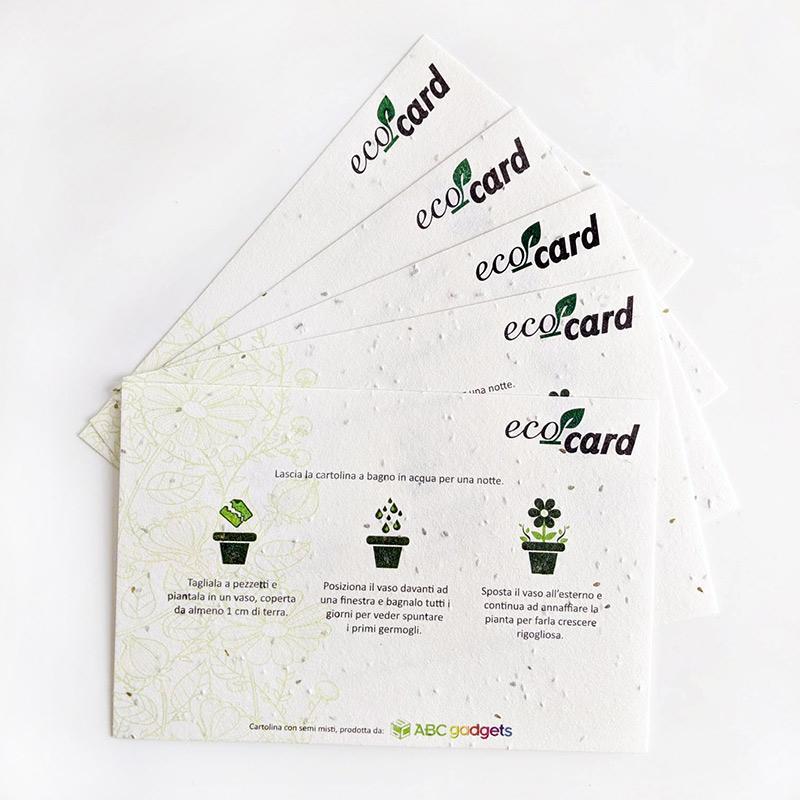 carta piantabile con semi