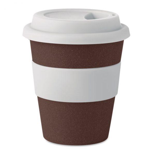 bicchiere ecologico bucce caffè riciclate