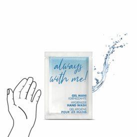Bustina gel igienizzante mani