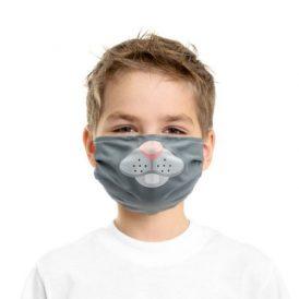 Mascherina protettiva bimbi personalizzabile