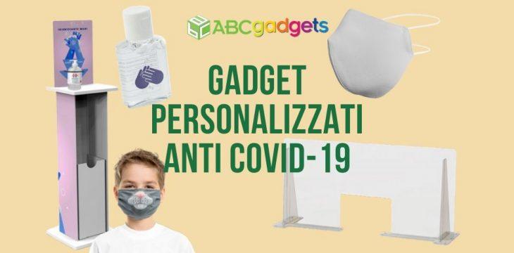 gadget personalizzati protezione covid