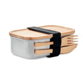 Lunch box in acciaio personalizzabile