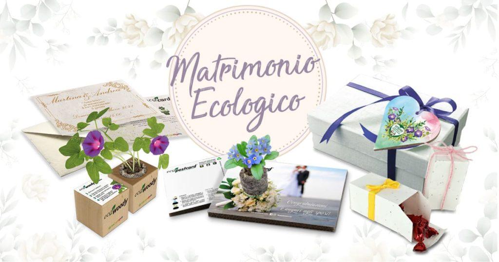 matrimonio ecologico bomboniere partecipazioni ecologiche