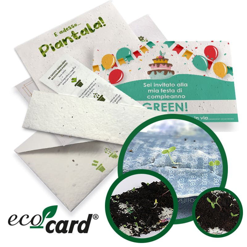 Eco-Card carta piantabile fiera Sana 2021