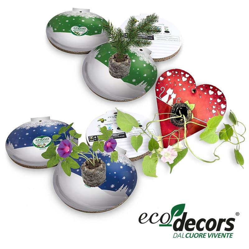 Eco-Decors pallina natale ecologica fiera Sana 2021